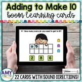 Adding to Make 10 Boom Cards ™   Making 10 Task Cards