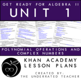 Get Ready for Algebra 2 Lesson Plans + Polynomial Operatio