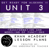Get Ready for Algebra 2 Lessons Plans + Transformations +