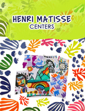 Distance Learning Matisse Lesson and Art Room Centers