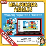 Distance Learning Measuring Angles with a Protractor Googl