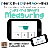 Distance Learning ⋅ Measuring Cups and Spoons ⋅ Interactiv