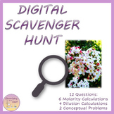 Distance Learning Molarity & Dilutions - Digital Scavenger