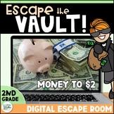 Money Digital Escape Room - Escape the Vault! Distance Learning