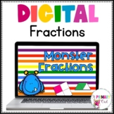 Distance Learning: Monster Fractions for Google Drive