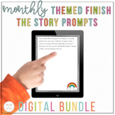 Distance Learning | Monthly Story Starters BUNDLE | Writin