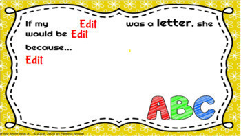 """Distance Learning: Mother's Day Activity (Print and Google)"""" If My Mom Was A..."""""""