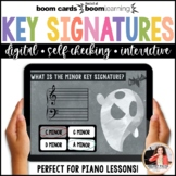 Distance Learning Music BOOM Cards: Halloween Key Signatures