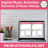 Distance Learning | Music Melody Activities for use with G