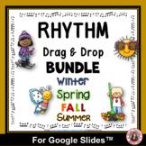 Rhythm Drag and Drop Activities BUNDLE