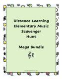 Distance Learning Music Scavenger Hunt MEGA Bundle