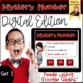 Distance Learning- Mystery Numbers for Google Classroom