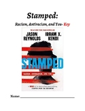 Distance Learning/No Prep Editable Novel Guide: Stamped Ac