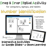 Digital: Number Identification Interactive  Distance Learn