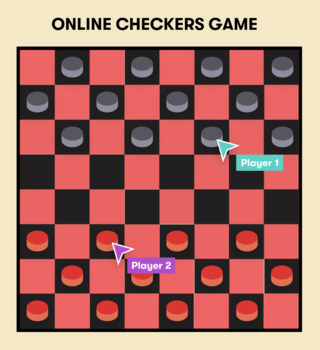 Distance Learning Online Checkers Multiplayer Game By Distance Learning