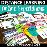 Distance Learning Online Expectations Digital & Paper Book