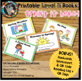 Online & Printable Guided Reading Books - Spring is Here! Level A