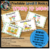 Online & Printable Guided Reading Books - Spring is Here! Level B