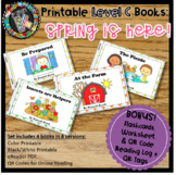 Online & Printable Guided Reading Books - Spring is Here! Level C
