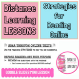 Distance Learning Online Reading Strategies with Google Sl