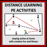 Distance Learning PE Activities - games and assessment for