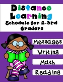 Distance Learning Packet for 2nd and 3rd Graders