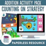 Counting On Addition Digital Activity Pack