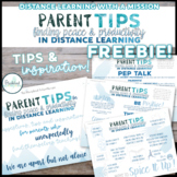 A Parent's Guide: Finding PEACE and PRODUCTIVITY in DISTAN