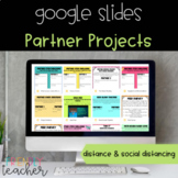 Distance Learning Partner Projects with Google Slides