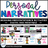 Distance Learning | Personal Narratives Google Slides