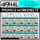 Distance Learning Phonics Worksheets for Google Classroom™