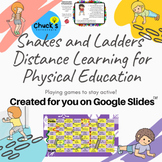 Distance Learning - Physical Education Board Game for your