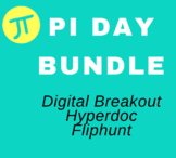 Distance Learning Pi Day Digital Interactive Activities Bundle