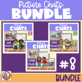 Distance Learning Picture Chat- Bundle #8 Focus on Vowel Sounds