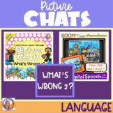 Distance Learning Picture Chats-Special Ed:What's Wrong 2?
