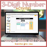 Distance Learning Place Value Practice 3-Digit