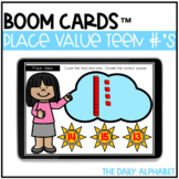 Place Value Teen Numbers 10-20 Boom Cards