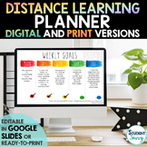 Distance Learning Schedule Planner | Homeschool Planner {50% OFF}