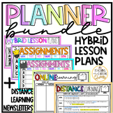 Distance Learning Planner Hybrid Newsletters Assignments