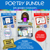 Distance Learning Poetry BUNDLE