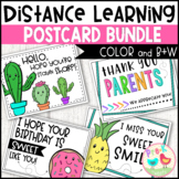 Distance Learning Postcards Bundle