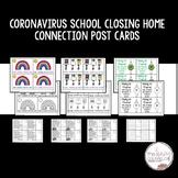 Distance Learning Covid 19 Postcards for Coronavirus Closings