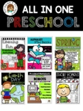 Distance Learning. Preschool Worksheets All in ONE packet