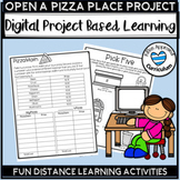 Distance Learning Project Based Learning Math Projects