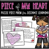 Distance Learning Puzzle Poem