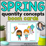 Quantity Concepts | Distance Learning BOOM CARDS™