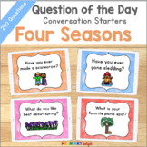 Question of the Day Conversation Starters | Yearlong Bundle
