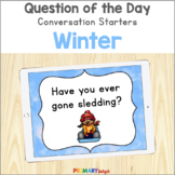 Distance Learning Question of the Day for Winter | Conversation Starters