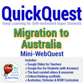 Distance Learning: QuickQuest on Migration to Australia