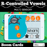 R-Controlled Vowels ER, IR, UR, AR, OR | Boom Cards | Digi